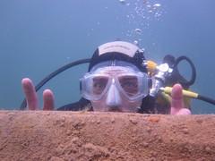 Ins tiefe Wasser!