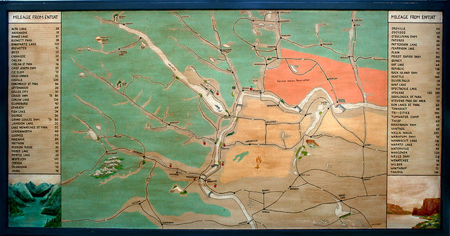 Entiat centric Columbia River Map Flickr Photo Sharing