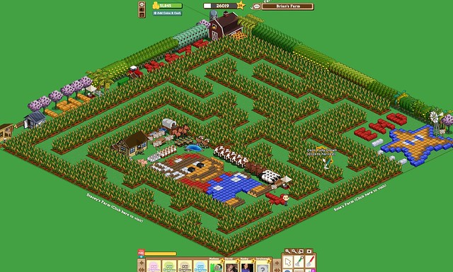 Farmville Corn Maze