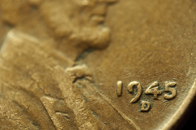 1945 Penny http://www.flickr.com/photos/jonathanvail/3866063553/