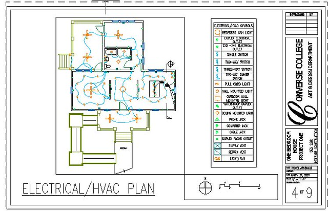 One Level Home Electrical Hvac Plan Flickr Photo Sharing
