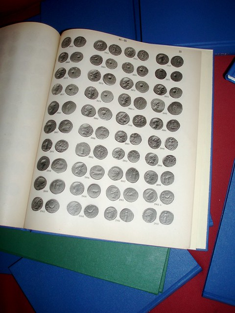 4. Numismatic bookbinding - Haeberlin collectoin