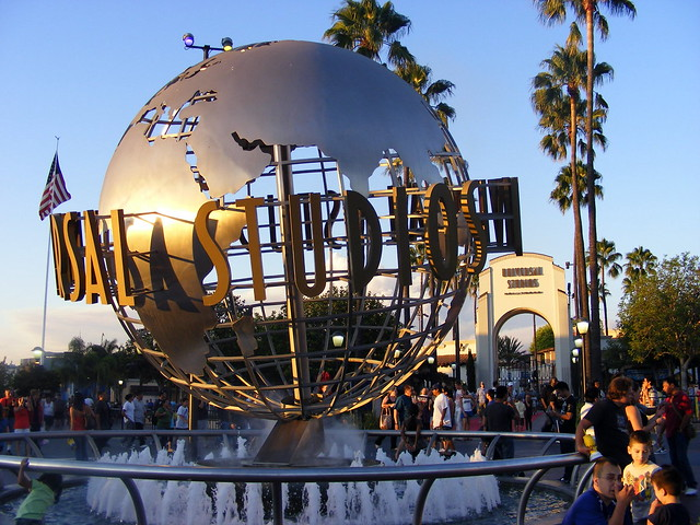 Universal Studios Hollywood entrance