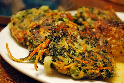 Savory Vegetable Pancakes