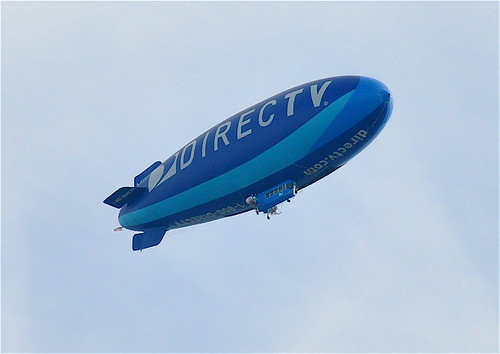 DirecTV Blimp over Philly