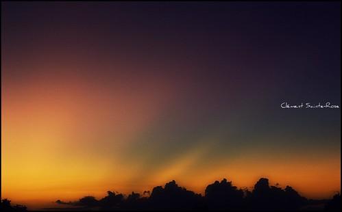 light sunset sky cloud sun color beautiful awesome nuage vosplusbellesphotos