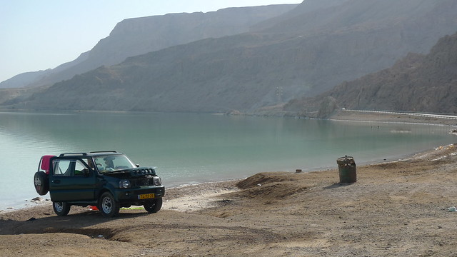 Suzuki by the Dead Sea by awduthie, on Flickr