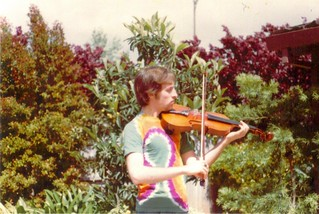 Eric tie-dye viola