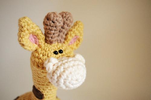 jirafa de crochet
