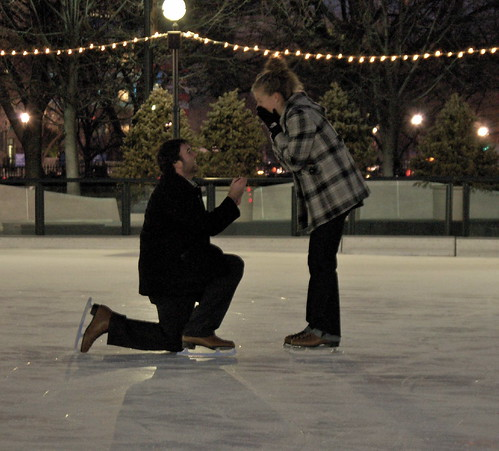 ice skating proposal idea