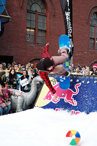 Backyard Bang Rail Jam at The Art Institute of Portland