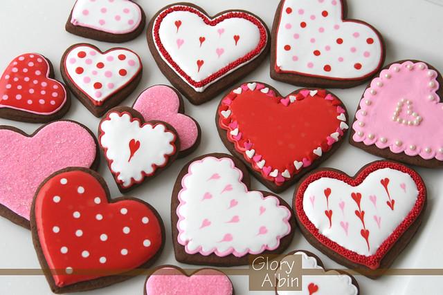 Печенье валентинки рецепт с фото