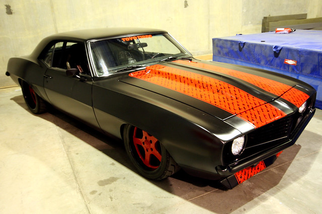 Rogue Status 69 Camero Built From Scratch Rob Dyrdek S