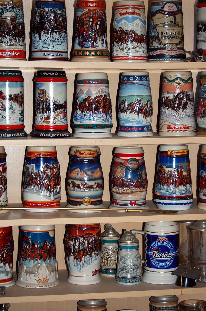Harry's beer steins