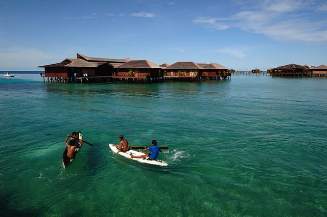 Pulau Mabul, Semporna, Sabah   Flickr - Photo Sharing!