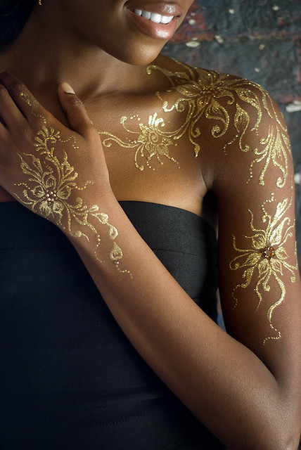 Gold Henna Detail | Flickr - Photo Sharing!