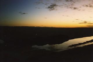 Sunrise over Chott el Djerid