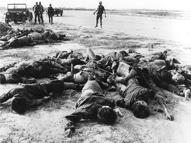 1968 Saigon - VC bodies near Tan Son Nhut Airport