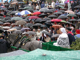 Rained out Procession