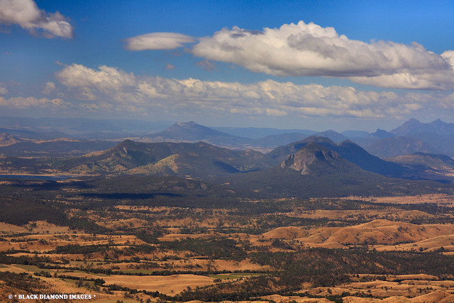 Sylvesters Lookout - World Heritage Main Range National Park - South East Queensland