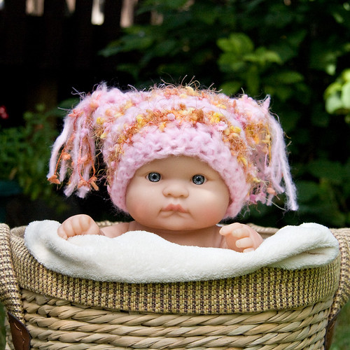Girly girl tassel hat