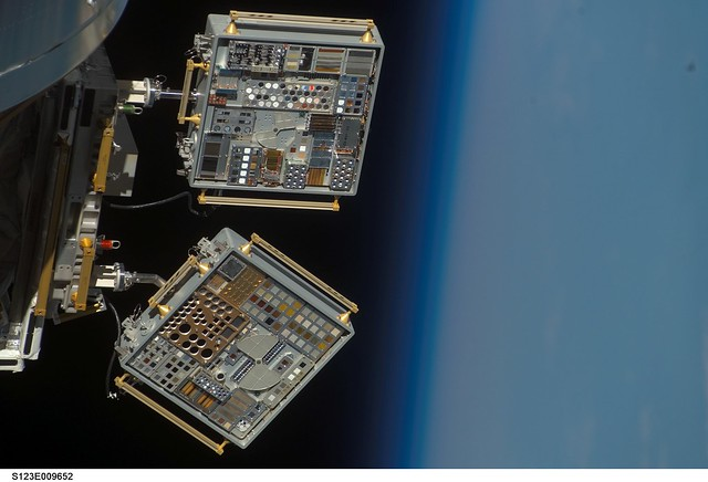 MISSE-6 Heading Home From Space (NASA, International Space Station Science, 09/03/09)