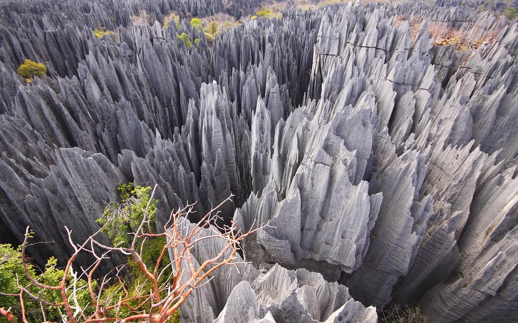 Madagascar, Tsingy