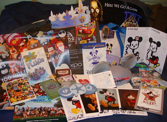 Free Stuff from D23 Expo '09