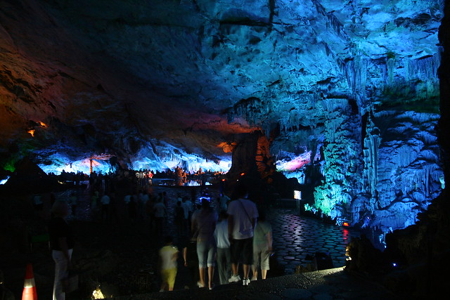 Reed Flute Cave mass tourism