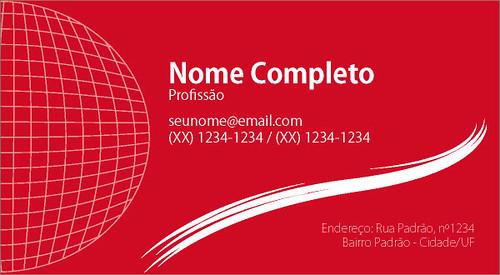 modelo de cartão de visita vermelho a photo on flickriver