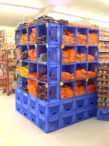 Preparing for hard times milk crates for Creative crates
