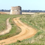 Martello Tower, Bawdsey Beach, Alderton.