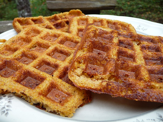 Orange Pecan Cornmeal Waffles | Flickr - Photo Sharing!