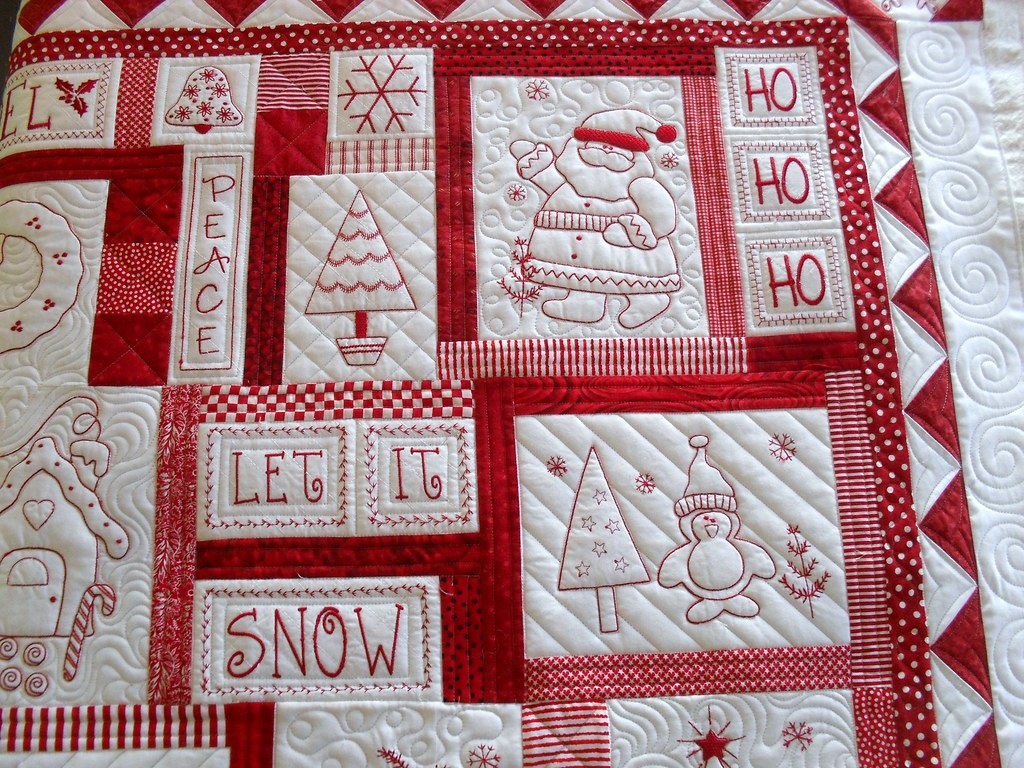 Redwork Quilt Patterns Christmas : Redwork Flickr - Photo Sharing!
