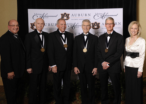 Auburn Alumni Association Honors Lifetime Achievers
