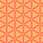 Melon Lattice in Yellow Bursts