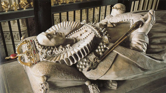 Tomb effigy of Elizabeth I