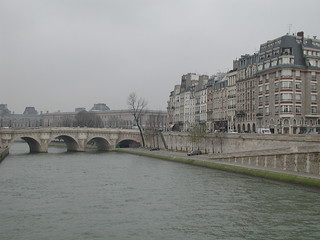Le Pont Neuf en hiver