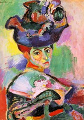 Matisse, Henri (1869-1954) - 1905 Woman with a Hat