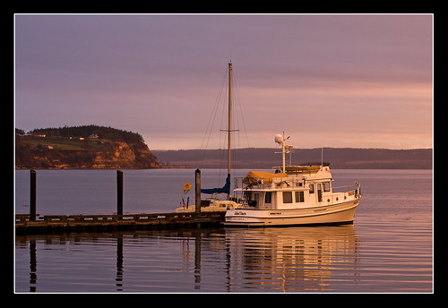 water sailboat sunrise island bay boat tugboat tug coupeville whidbey islanddancer