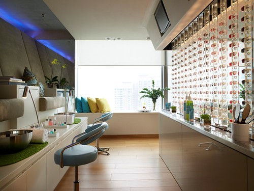 W Hotel Hong Kong Bliss Spa Pedicure Station