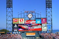 AT&T Park Billboard Advertisements