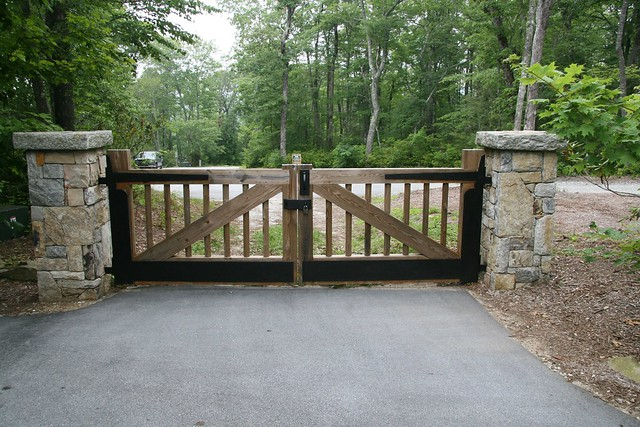 Driveway gate flickr photo sharing
