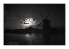 Dark Windmill 'Prinsenmolen', Rotterdam