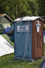 outdoor structure(0.0), shed(0.0), portable toilet(1.0), tent(1.0),
