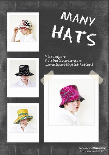 Many Hats - Viele Hüte!