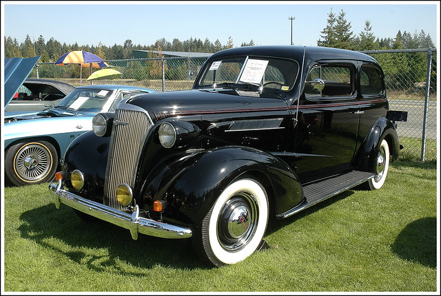 1937 chevrolet 4 door sedan master deluxe a photo on for 1937 chevy 4 door sedan