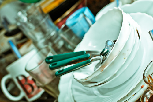 All I need to know about creativity I learned from washing dishes. - The Happiest Home
