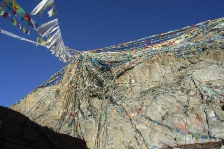 Hill of religion, Lhasa, Dec 2007