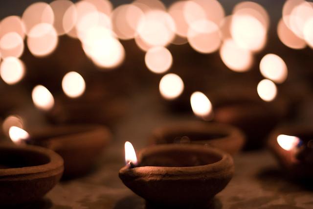 Diwali Wallpapers Free: Diwali String Lights